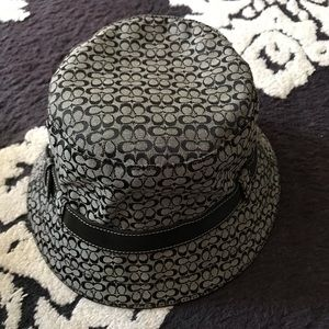 Coach Classic Black & White Bucket Hat
